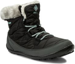 Śniegowce COLUMBIA - Youth Minx Shorty Omni-Heat Waterproof BY1334  Black Sparay 010 eobuwie 3131e0c95c