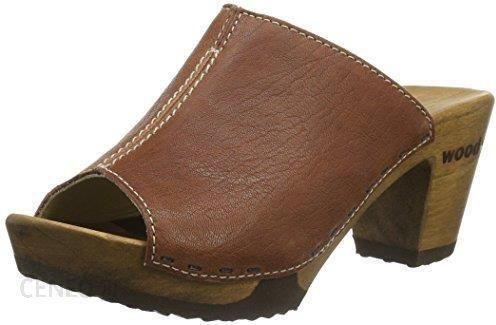 00ce696f Amazon Klapki Woody Elly dla kobiet, kolor: brązowy, rozmiar: 42 - zdjęcie