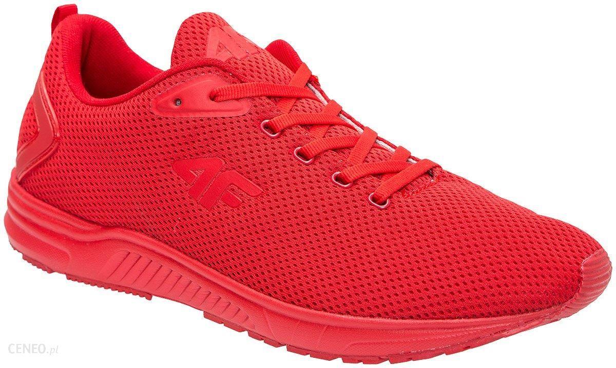 Buty sportowe męskie OBMS300Z czerwony wiśniowy