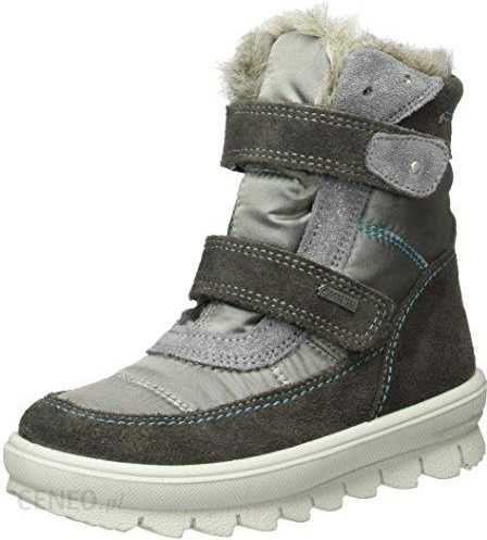 045db1a806ec4 Amazon Śniegowce Superfit FLAVIA 700214 dla dziewczynek, kolor: szary,  rozmiar: 33 -