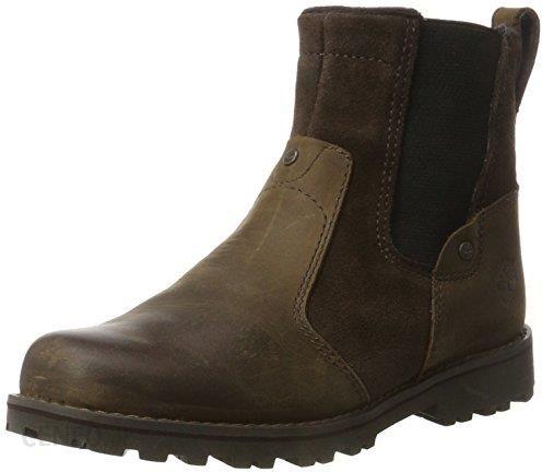 Amazon Buty za kostkę Timberland dla dzieci, kolor: brązowy, rozmiar: 35