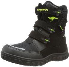 Amazon Sniegowce Kangaroos Hitchhike Velcro Dla Dzieci Kolor Czarny Rozmiar 32 Ceny I Opinie Ceneo Pl