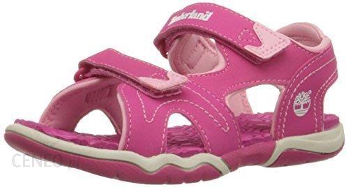 05f7ed64174fe Amazon Sandały Timberland dla dziewczynek, kolor: różowy, rozmiar: 27 -  zdjęcie 1