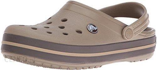 promo code d168d 30a0a Amazon Chodaki crocs Crocs Crocband Clog dla dorosłych, kolor: beżowy  (Khaki/Espresso 23G), rozmiar: 45/46