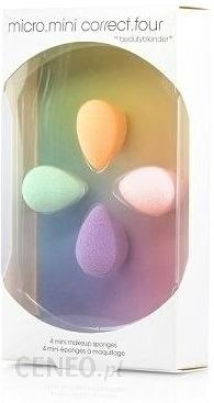 Beauty Blender Micro Mini Corret Four Zestaw Mini Gabeczek Do Aplikacji Kosmetykow 4 Szt Opinie I Ceny Na Ceneo Pl