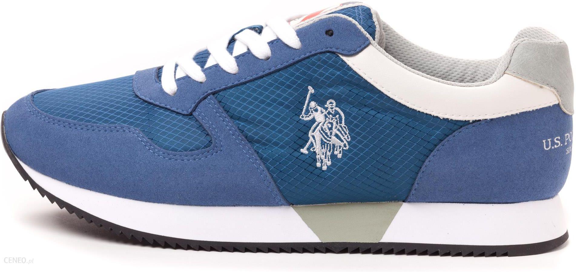 U.S. POLO ASSN. tenisówki męskie Rex 44 niebieski Ceny i