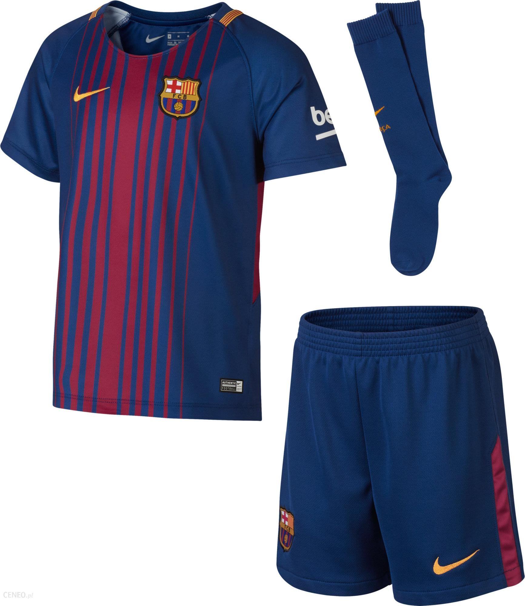 Nike Strój Dla Dziecka Fc Barcelona 2017 18 - Ceny i opinie - Ceneo.pl 2ee5e6c53be