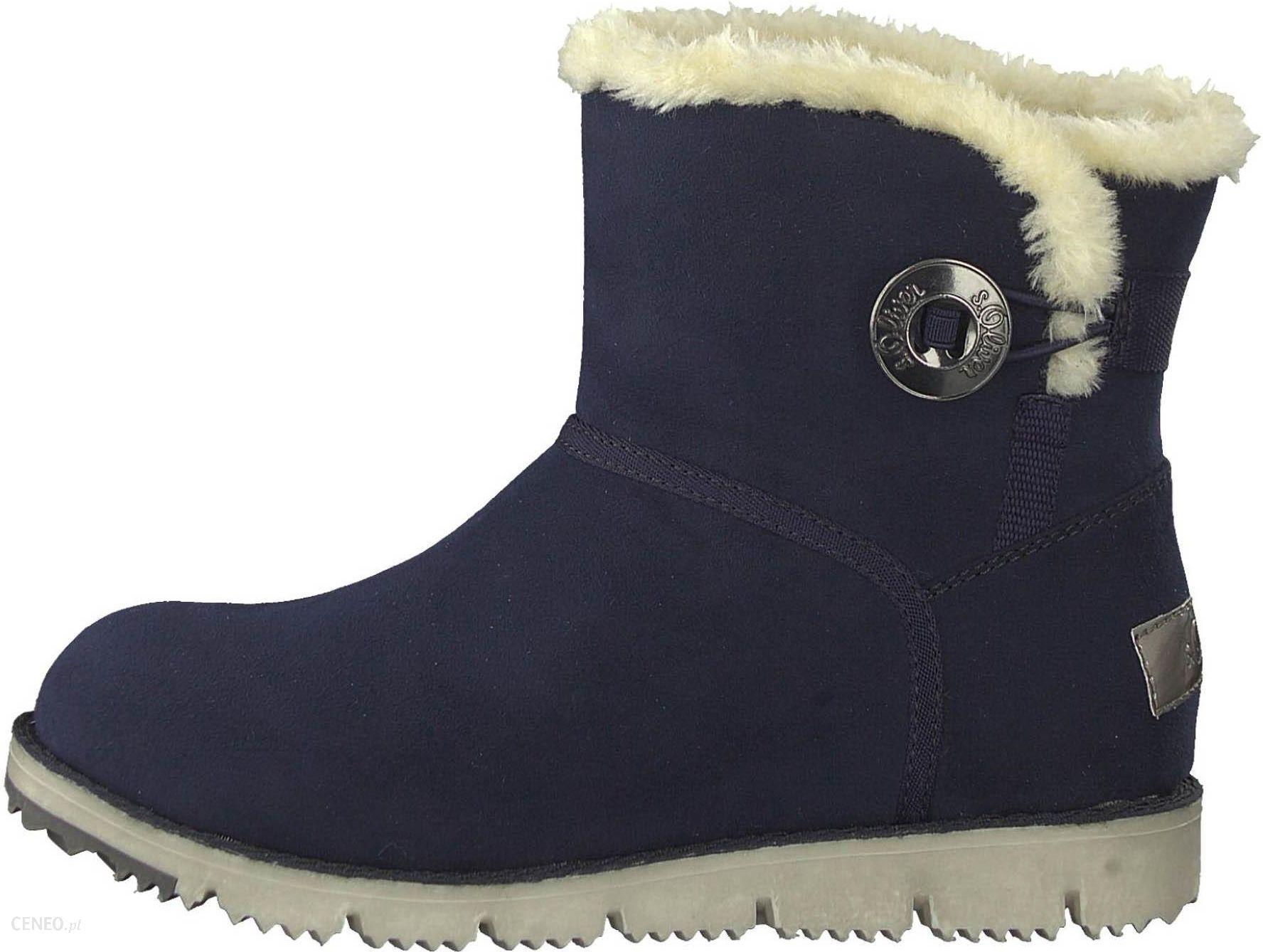 6726822a45c518 S.Oliver buty zimowe damskie 39 ciemnoniebieski - Ceny i opinie ...