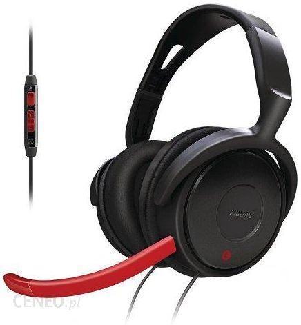 Amazon Słuchawki Philips SHG798010 Gaming pokrowiec na deskę do prasowania w zestawie: Mini mikrofon Czarnyczerwony Ceneo.pl