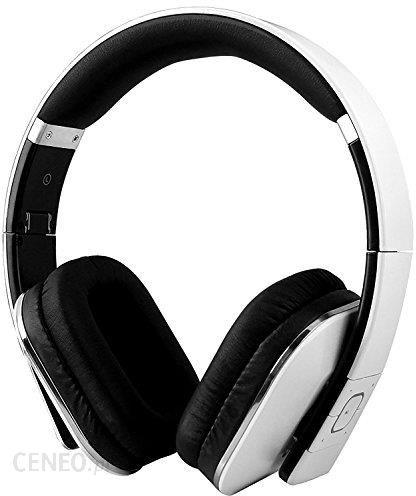 Amazon August EP650 – NFC słuchawki Bluetooth z technologią aptX – ze skórą wkładki douszne (kolor) biały