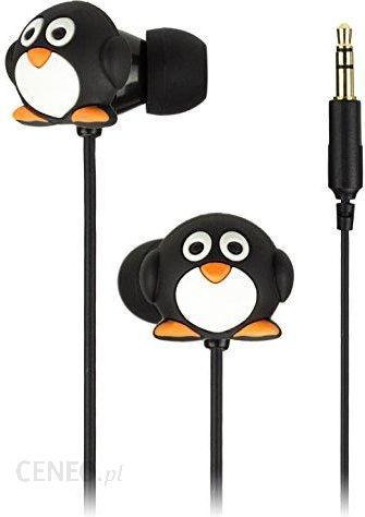 Amazon My Doodles by Trendz in ear Słuchawki nie tylko dla dzieci pingwin