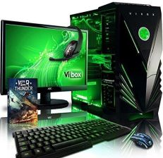 Amazon vibox VBX PC-1207 Destroyer zestaw 9 54,6 cm (21,5 cala) Gaming Desktop-PC (AMD Phenom Quad Core FX-8350, 16 GB RAM, 1120 GB HDD, AMD Radeon R9