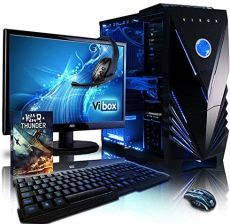 Amazon vibox VBX PC-1100 Sharp Shooter zestaw zawiera 10 54,6 cm (21,5 cala) Gaming Desktop-PC (AMD Phenom Quad Core FX-8350, 16 GB RAM, 2120 GB HDD,