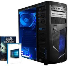 Amazon VIBOX Ultra 11LW Gaming PC komputer stacjonarny dla graczy (procesor 3.1 GHz [3.8 GHz Turbo] Quad Core AMD A8, 32 GB 1600 MHz RAM, 1 TB HDD, gr