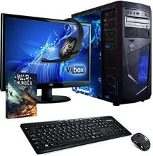 Amazon vibox VBX-PC-5032 Vision zestaw 2L 54,6 cm (21,5 cala) Gaming Desktop PC (AMD A series A4 – 6300, 16 GB RAM, 1TB HDD, AMD Radeon HD 8370d, żade