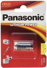 Amazon Panasonic Lithium CR123 A 3 V 1400 mAh - zdjęcie 1