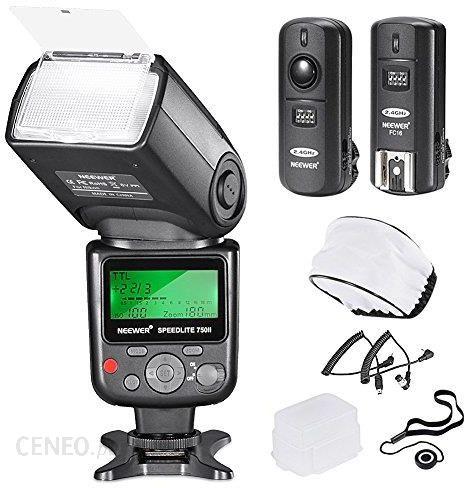 Amazon Neewer Pro I Ttl Zestaw Lampy Błyskowej Delux Do Aparatów Nikon Dslr D7100 D7000 D5300 D5200 D5100 D5000 D3200 D3100 D3300 D90 D800 D700 D300