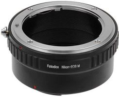 Amazon Fotodiox LENS Mount Adapter, Nikon F Lens to Canon EOS-M (EF-M Mount) Mirrorless camera, EOS M, M2, M3