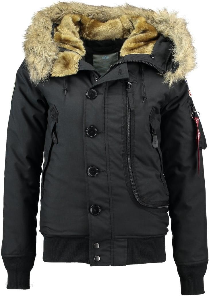 Alpha Industries POLAR Kurtka zimowa black