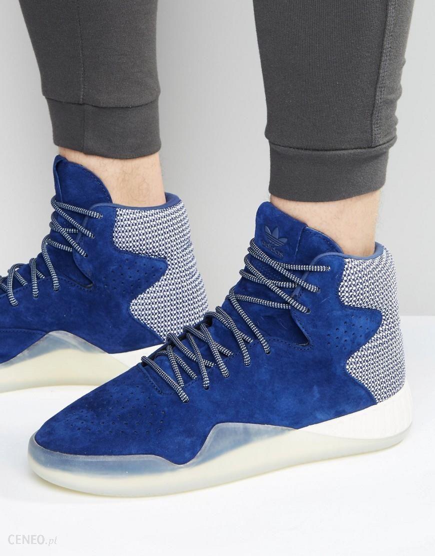 Adidas Originals Tubular Instinct Trainers In Blue S80087 Blue Ceneo.pl