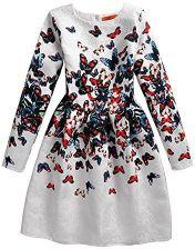 Amazon Taiyc Yxgan Sukienka Dla Dziewczynki Dzieci Słodkie Motyl