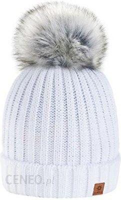 a50a9f09c343 Amazon 4sold Rita damski korniki zimowy Style Beanie do robienia na drutach  czapka z pomponem futrem