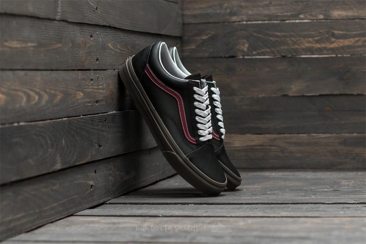 Vans Old Skool (Bleacher) Black Port Gum Ceneo.pl