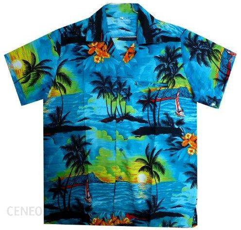 Amazon Oryginalna męska koszula King kameha , Funky Hawaii  uWd59