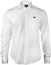 5741052a6 Amazon Emporio Armani, koszula męska, biały (L) - Ceneo.pl