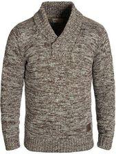 d31de6beeee4 Amazon Solid Phil męski sweter do robienia na drutach kołnierzem szalowym