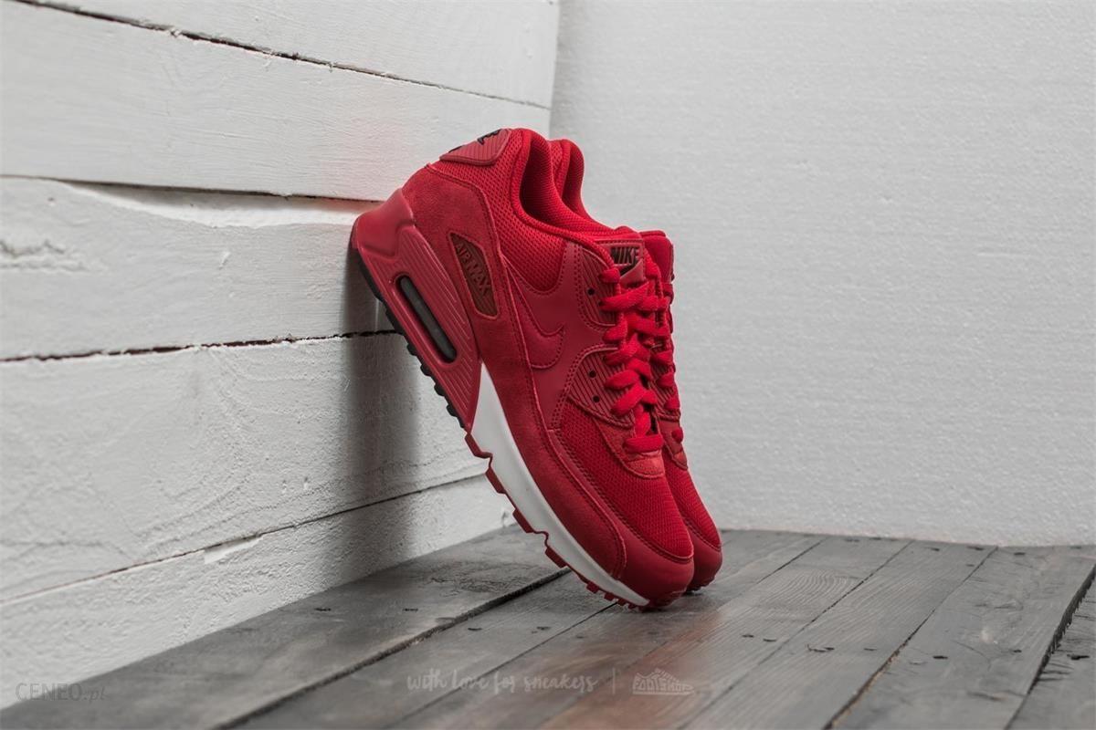 Nike Air Max 90 Essential Gym RedBlack White Men's Shoes For Sale