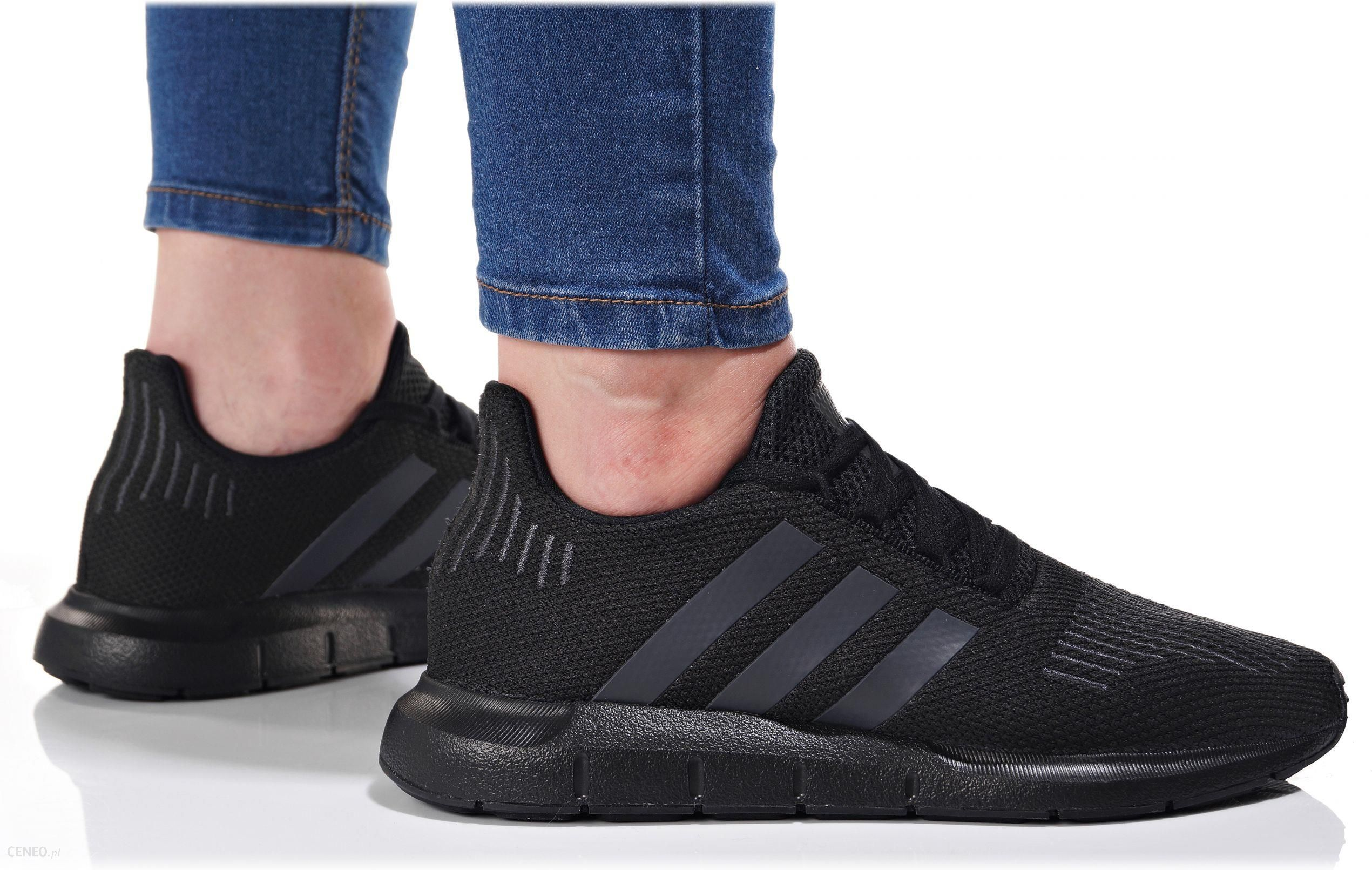 adidas swift run damskie czarne