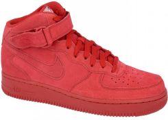 buty nike męskie wysokie czerwone