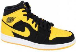 nike air jordan 1 czarny and yellow
