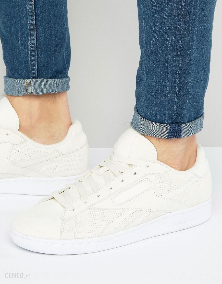 Buty męskie sneakersy Reebok Npc Uk Perf BD2967 KREMOWY