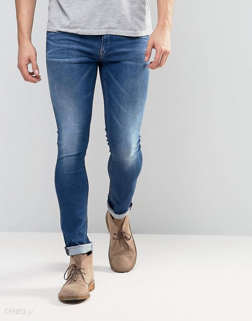 Replay Jondrill Skinny Powerstretch Jeans Dark Blue Wash - Blue - zdjęcie 1 f87a5c9de2
