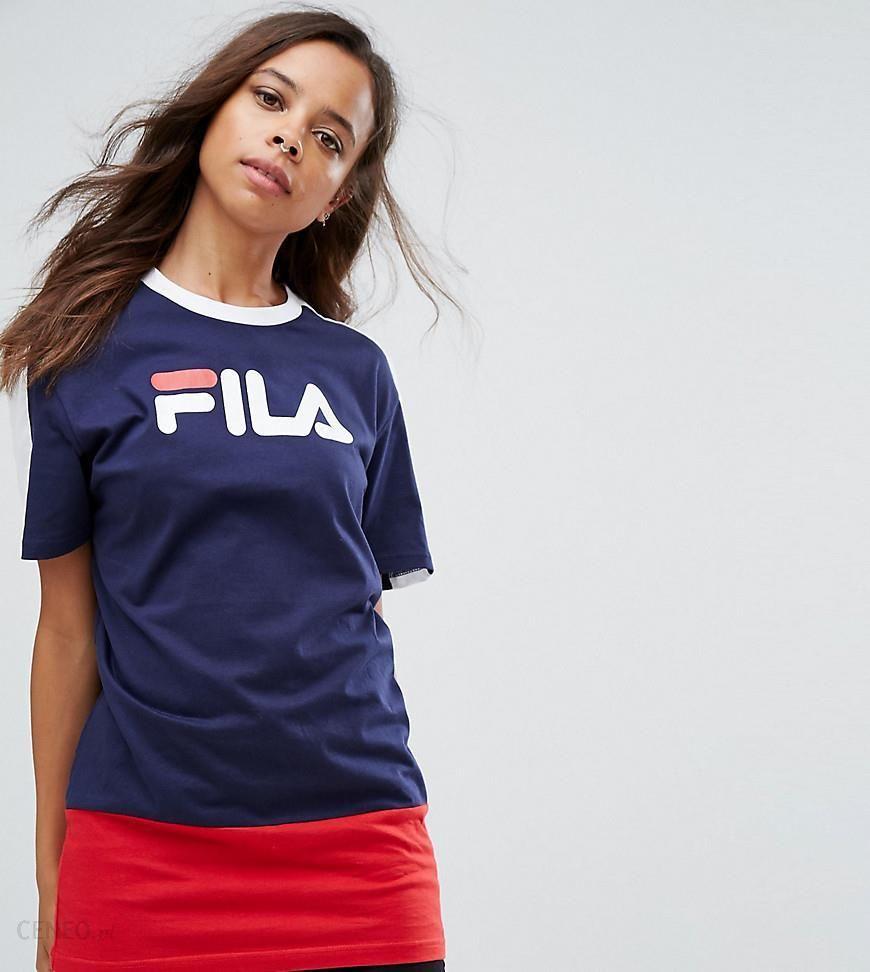 Fila Tall DATE CREW Bluza stripebright white