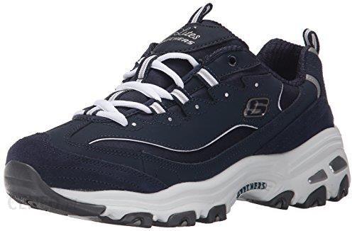 Amazon Buty sportowe Skechers D'Lites Me Time dla kobiet, kolor: niebieski, rozmiar: 37 Ceneo.pl