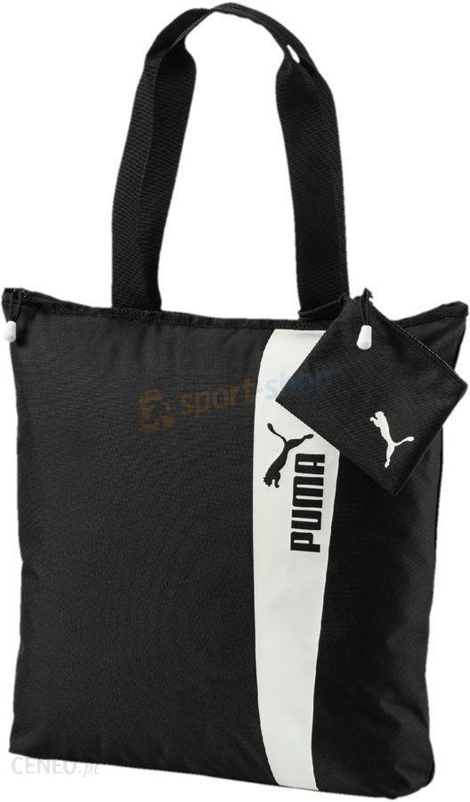 4817a6fa06acf Torba na ramię Core Style Shopper 16L Puma (czarna) - Ceny i opinie ...