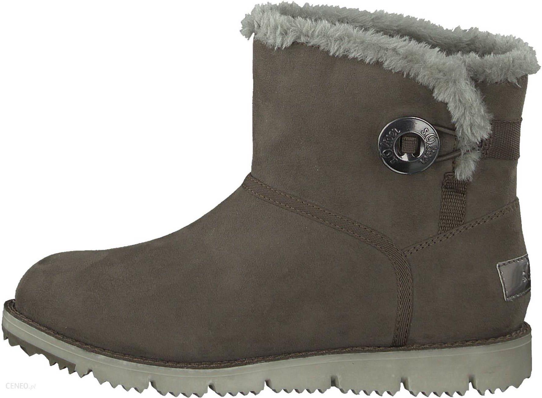 d15b3340 S.Oliver buty zimowe damskie 36 brązowy - Ceny i opinie - Ceneo.pl