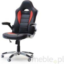 Mpt Kubełkowy Fotel Do Biura Racer 3 Czarny Czerwony