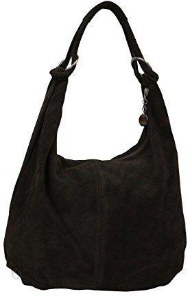 de208e1ad9565 Amazon Ambra moda damska torebka torba na ramię zamszowa Tasch torebka  damska