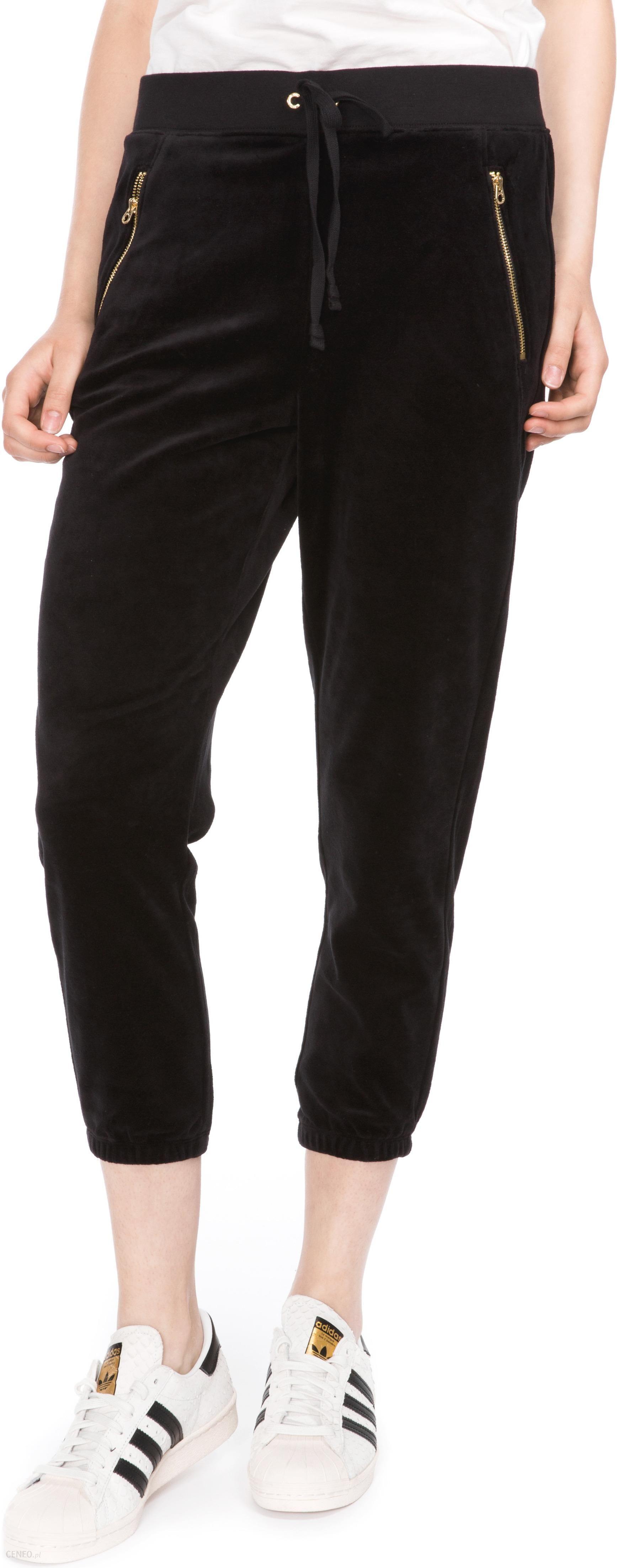 Juicy Couture Spodnie dresowe Czarny XS Ceny i opinie Ceneo.pl