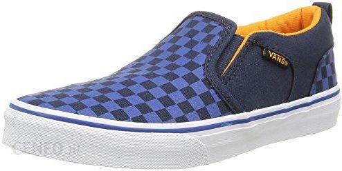 Amazon Buty sportowe Vans dla chłopców, kolor: niebieski, rozmiar: 35 EU Ceny i opinie Ceneo.pl