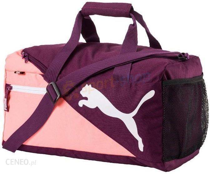 b82c39d92ade0 Torba Fundamentals Sports Bag XS 18L Puma (fioletowa) - Ceny i ...