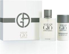 04e933de9883e Giorgio Armani Acqua Di Gio Pour Homme Zestaw dla mężczyzn EDT 100 ml +  Deostick Dezodorant