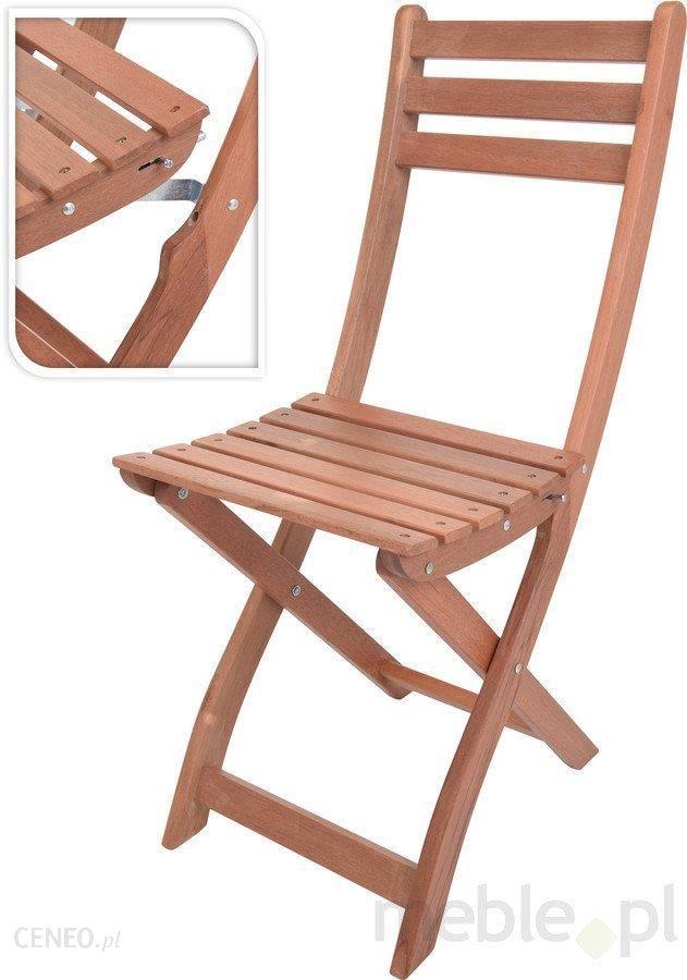 Ogromny Krzesło ogrodowe D2 Drewniane Krzesło Składane - Ceny i opinie ST91