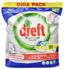 Dreft Platinum Lemon lub Original do zmywarki 90 k