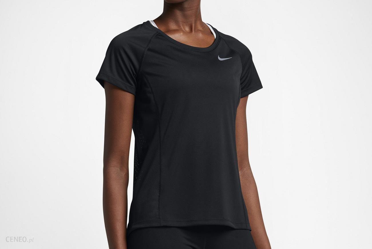 68809df30d747e Nike Koszulka W Nk Dry Miler Top Crew 831530 010 - Ceny i opinie ...