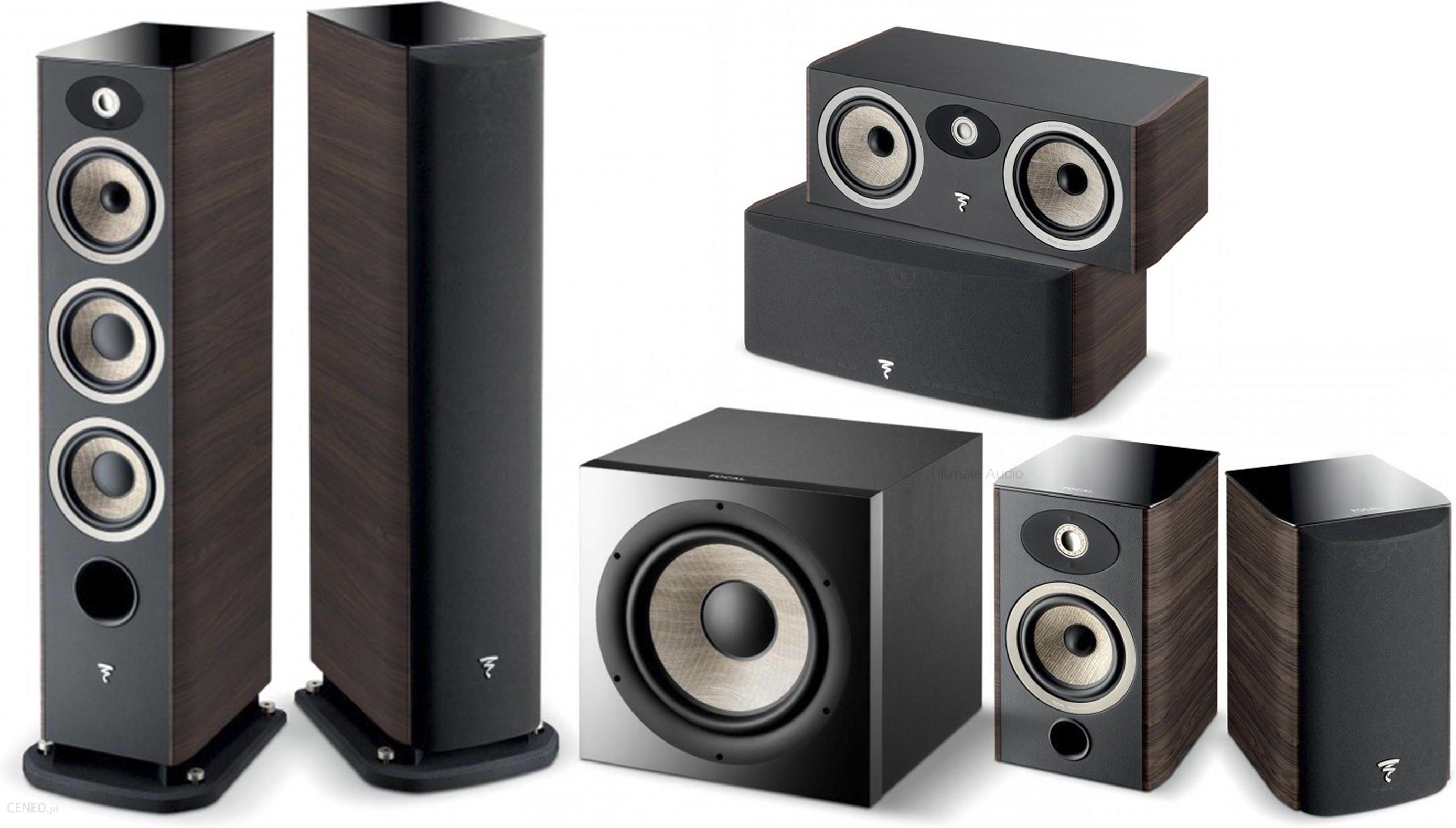 Focal Aria 926 + 906 + CC900 + Sub1000F - Zestawy kolumn - Opinie i ceny na  Ceneo pl